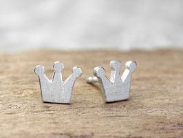 Ohrstecker Krönchen aus 925 Silber