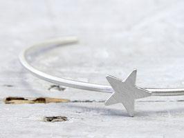 Armreif Stern aus 925 Silber