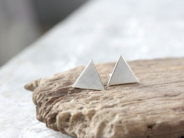 Ohrstecker Dreieck aus 925 Silber