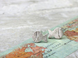 Ohrstecker Fische aus 925 Silber