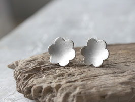 Ohrstecker Blüte  aus 925 Silber