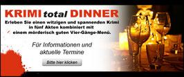 """Karte für KRIMItotal Dinner im Gasthof & Pension """"Zum Löwen"""""""