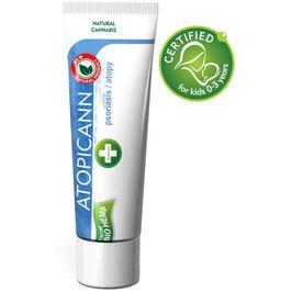 Crema per Psoriasi e Prurito: Naturale e con Olio di Canapa - Atopicann Crema - 100ml
