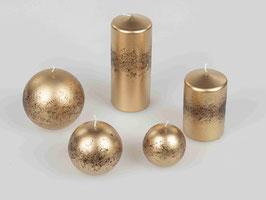 Kerzen gold 505309 - Weihnachten