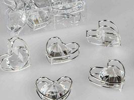 Kristall-Tischdeko Herz 531889 - Weihnachten