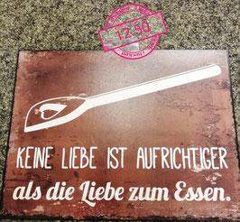 Wandbild Essen - Geschenk Deko