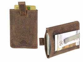 Leder Kartenclip RFID Artikelnummer: 1614-25