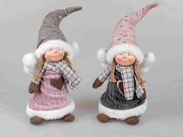 Textilengel stehend 36cm 508867 - Weihnachten