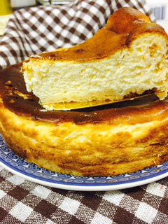 イタリアンシェフがつくる 絶品!ベイクドチーズケーキ