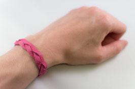Leder-Armband (pink)