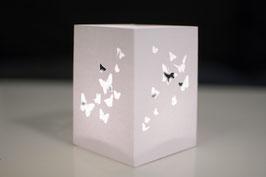 Windlicht - Schmetterling (2er Set)