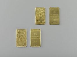 Goldbarren aus Schweizer Naturgold Rarität!