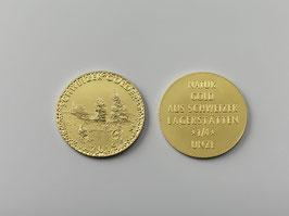 """""""Schweizer Golder""""  2019  die seltene Medaille/Münze aus Schweizer Naturgold limitierte und nummerierte Auflage nur 33 Stk! Fast ausverkauft!!"""
