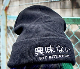 N.I.B. ( Not Interested Beanie )