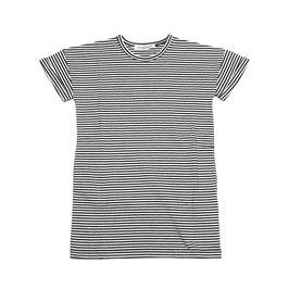T-Shirt Dress b/w stripes