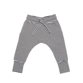 Slim fit jogger B/W stripes