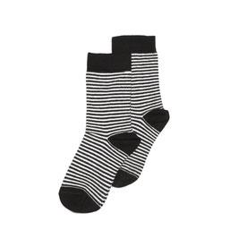 Sock b/w stripes