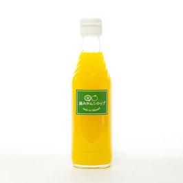 緑(あお)みかんシロップ 加糖