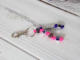 Schlüsselanhänger mit Namen/Buchstaben