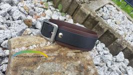 Biothane Halsband - doppelt - Breite 35mm