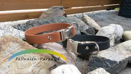 Biothane Halsband - einfach - Breite 25mm