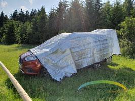 Alunetz - 6 x 4 Meter / Schattennetz für's Auto
