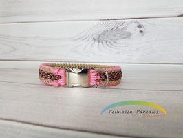 Leoni in rosa/beige - HU netto ca. 40 cm