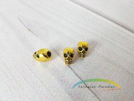 Skull 1 - goldfarben