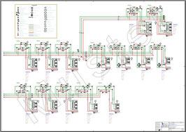 RI-Schema auf PVC-Platte - bis Format A0