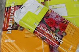 Blumenerde Sack