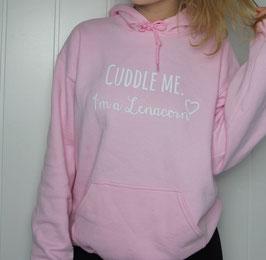 Lenaly7 Cuddle Me Hoodie light pink + Autogrammkarte