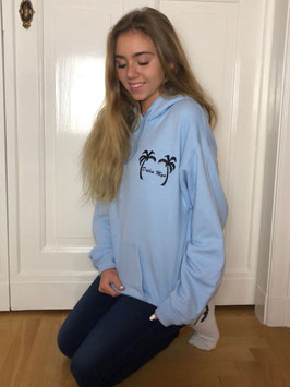 Dalia Merch Hoodie light blue