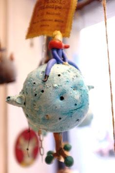 Il Piccolo Principe sull' asteroide con il Baobab-medio grande