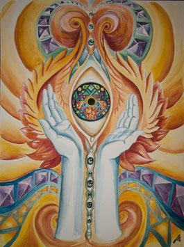 """Artprint """"Divine Consciousness"""""""