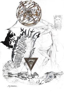Deus videt omnia, Deus sciat omnia - God sees and knows all