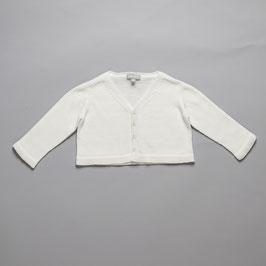 V-neck cardigan off white