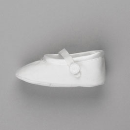 Cotton satin shoe