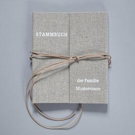 STAMMBUCH LEINEN