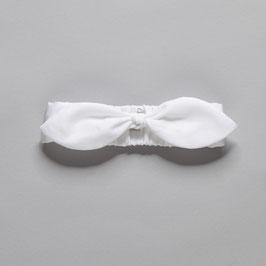 White head band big bow