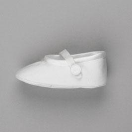 Schuh aus Baumwollsatin