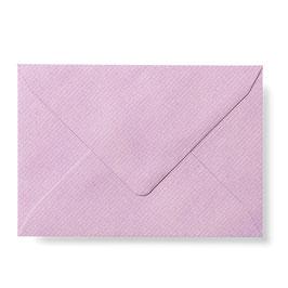 Briefumschlag mit Seidenfutter (Lila)