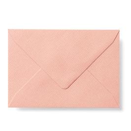 Briefumschlag mit Seidenfutter (Altrosa)
