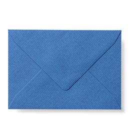 Briefumschlag mit Seidenfutter (Blau)