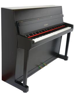 Feurich Klavier Modell 112 schwarz satiniert