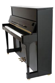 Schimmel Klavier 120 TR schwarz poliert Konsole