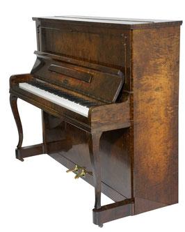 Malmsjö Klavier 122 Wurzelholz Hochglanz