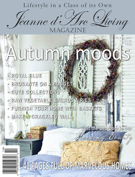 Magazine Jeanne d'Arc Living - ottobre  2017