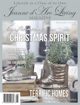Magazine Jeanne d'Arc Living -   numero 8  2018