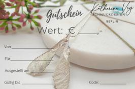 """Gutschein """"Ahorn"""""""