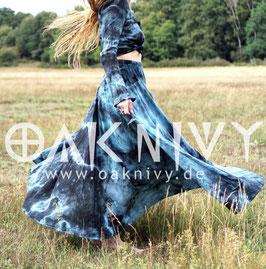 Maxi Skirt - Black Sea